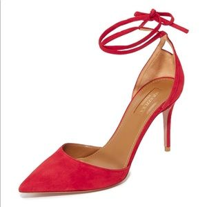 Aquazzura Heart Breaker Pumps shoes new $ 650